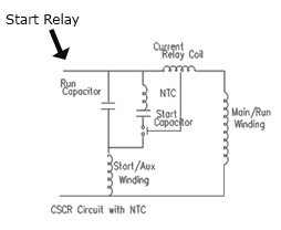 inn 002 current relay, start relay kool care controls ptc relay wiring diagram at bayanpartner.co